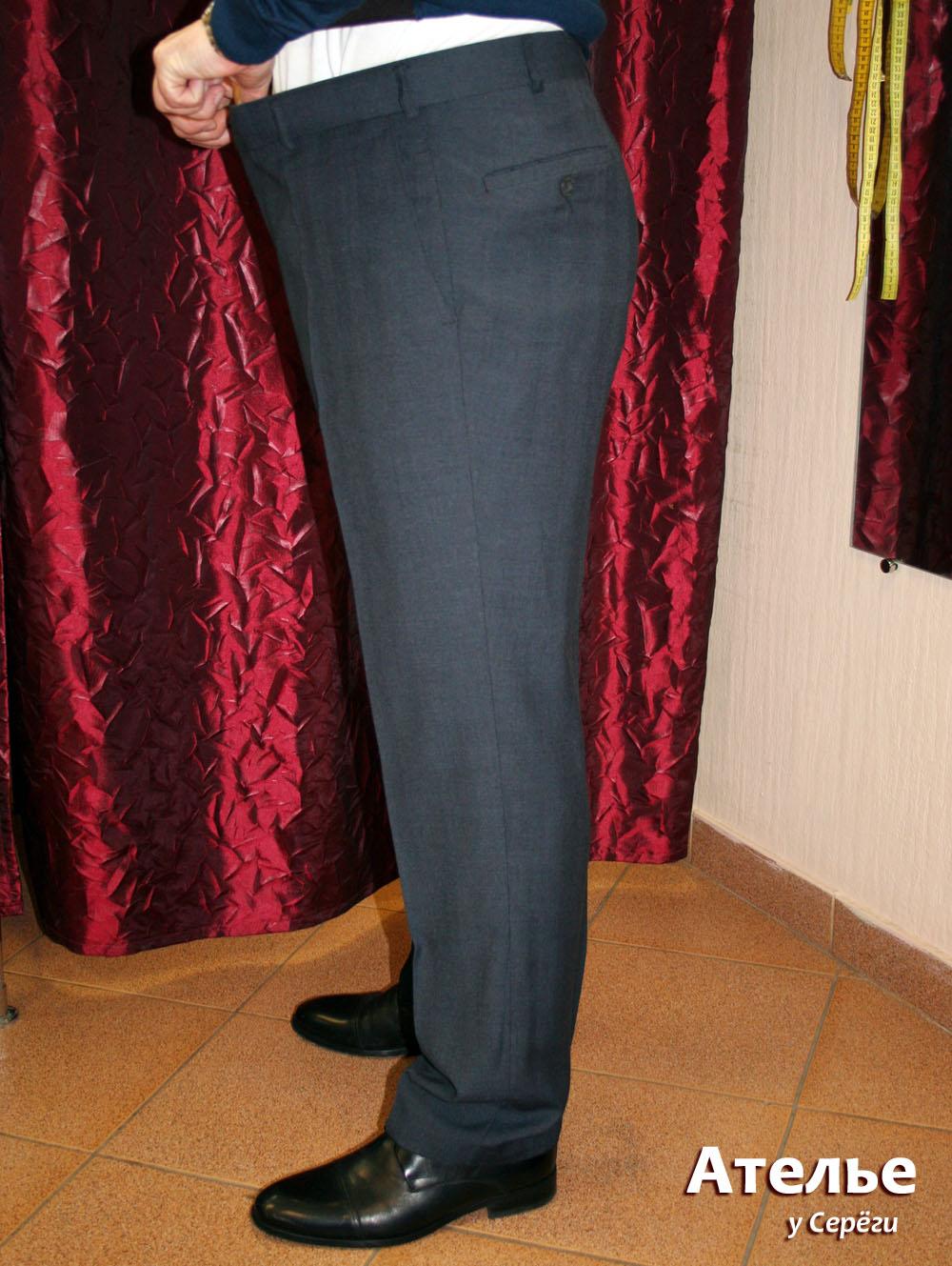 Перекрой брюк - примерка