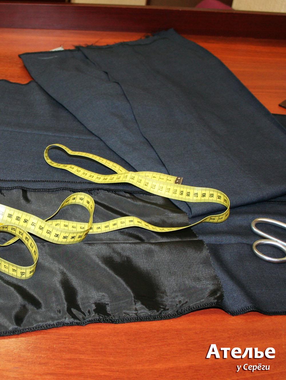 Перекрой брюк - стачиваем швы