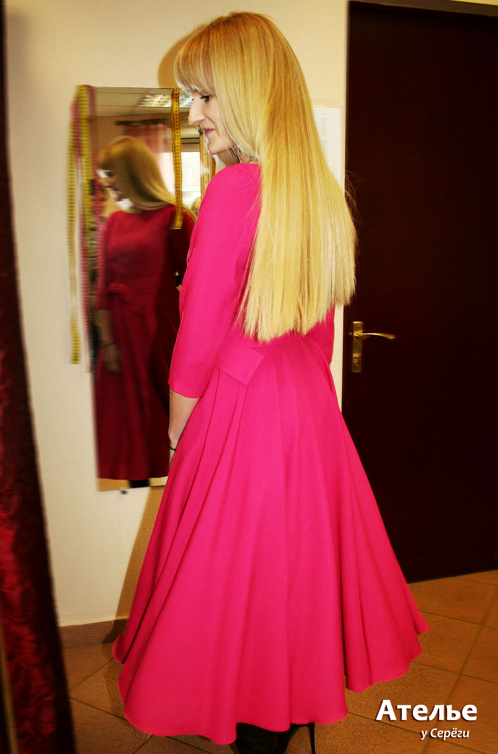 Платье на заказ.